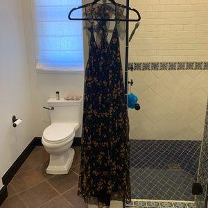 Zara Floral, Flowy Maxi Dress